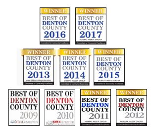 Best of Denton County Awards